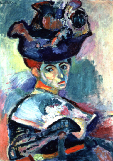 Matisse: Woman with a hat