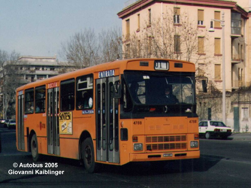 Rome city transport: bus