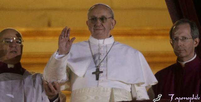Il nuovo Papa Jorge Mario Bergoglio con il nome di Francesco I