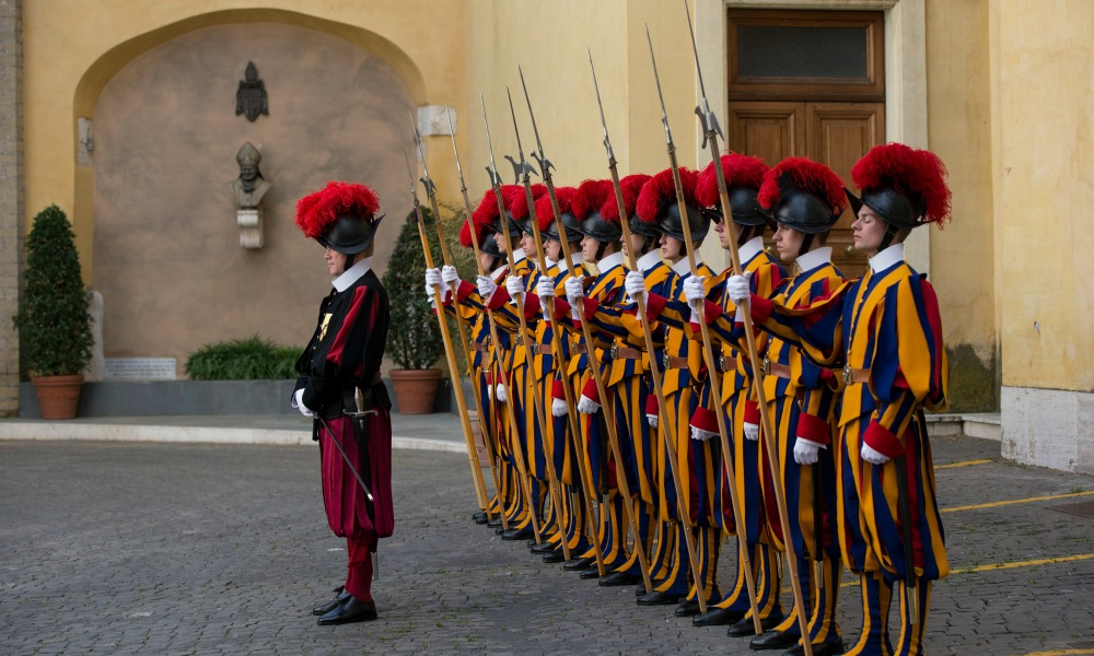 THE SWISS GUARD TURNS 509 YEARS!