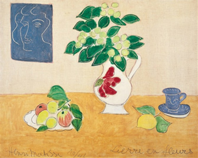 MATISSE'S ARABESQUE ON EXHIBIT UNTIL JUNE!