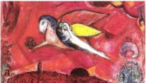 "THE GOAT, THE FIDDLER AND THE BRIDE: CHAGALL'S ""LOVE AND LIFE"" ON EXHIBIT"