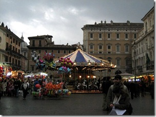 The great Piazza Navona Christmas Market