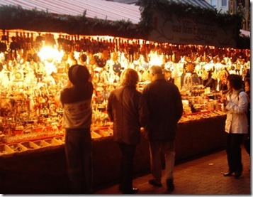 One of the Christmas Market's in Rome