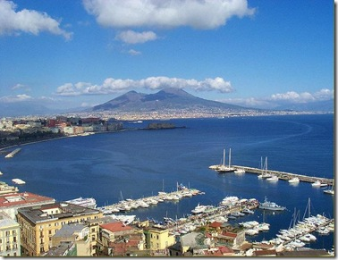 Naples, the port city full of beauty