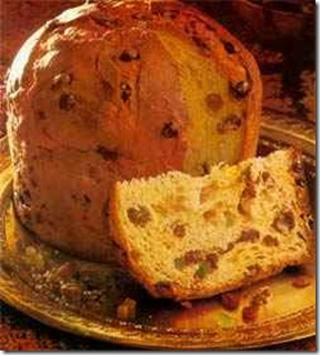 Any time of year... Eaten at Christmas in Italy but abroad Panettone remains a favourite all year round