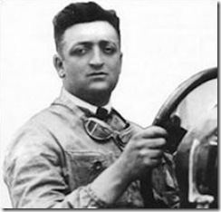 Enzo Ferrari the founding father of the great Italian company,
